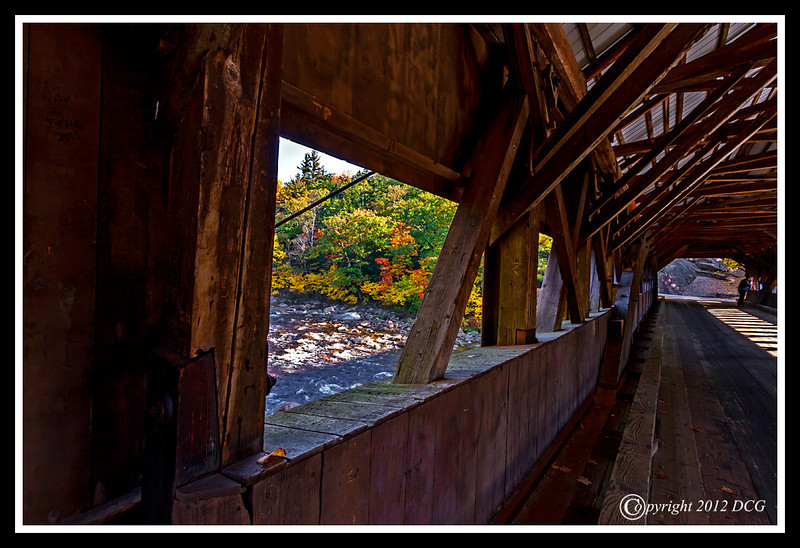 Albany Covered Bridge over the Swift River