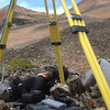 Handcart Gulch, CO (June). Yanet.  Melissa taking a nap in between TLS scan positions.