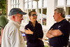 Joe Gallagher talks with Beth Johnson Monroe and Joe Purfield
