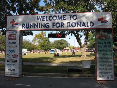 Running for Ronald McDonald House