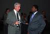 WJCT President & CEO Michael Boylan, Jacksonville Mayor Alvin Brown.