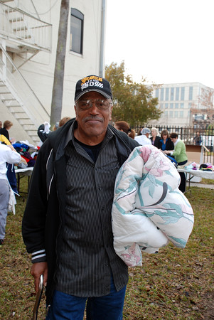 Mister Rogers Sweater Drive @ Clara White Mission