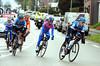 A seven-man escape has got clear after 45-kilomeyres - led by Garmin's Raymond Kreder...