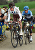 Raymon Bardet has attacked from the escape on the Gulperberg, but Howes is still with him...