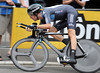 Bradley Wiggins rode close to his true ability by taking 2nd, just one-second off the winner's time...