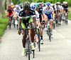 Daniel Teklehaimanot is the Eritrean cyclist from Green Edge who is chasing now...