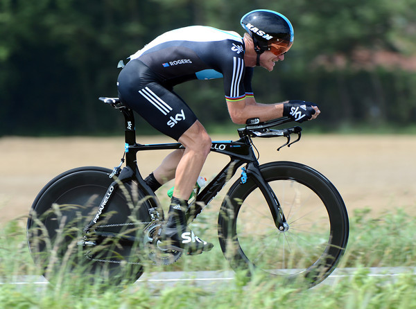 """Michael Rogers is going better than ever it seems - the Australian took 3rd place at 1' 11"""""""