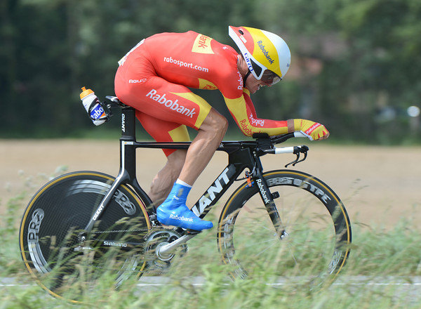 """Luis Leon Sanchez was another rabobank rider in-form today - the Spanish champion took 10th at 1' 53""""..."""
