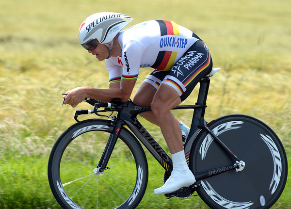 """Bert Grabsch is not just fast, he's also one of the most stylish riders in the business - the German took 23rd, 3' 09"""" down..."""