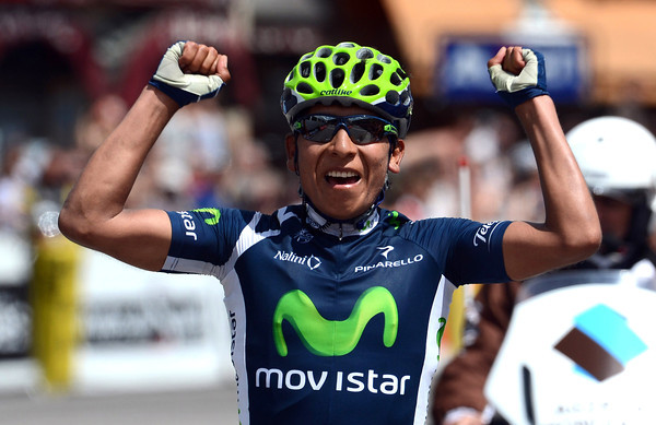 Alexandre Quintana manages to stay away to win stage six into Morzine - Wiggins remains race-leader...