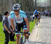 Tom Boonen has attacked on the Taaienberg - only Sep Vanmarcke can stay with him...