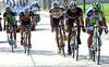 Peter Sagan and Cancellara now lead a six-man group towards Wevelgem...