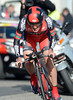 Marco Pinotti raced into 8th place for BMC - he was 24-seconds off the winning pace...