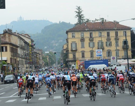 The Giro is skirting Turin on its way towards the first true mountains of the race...
