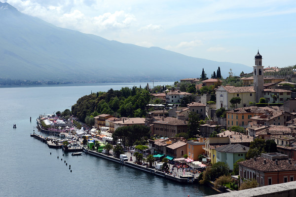 This is Limone sul Garda - a perfect place to see the Giro start from...