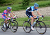 Ryder Hesjedal has two grinning rivals behind him - what are Basso and Scarponi up to..?