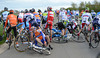 A crash has caught out riders like Stef Clement and Jens Keukeleire...
