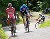 Joachim Rodriguez has attacked at the head of the peloton - Hesjedal is quick to respond...