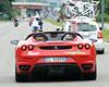 ...so we can show you the Ferrari that followed a Ferrari in Milan..!