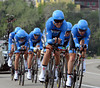 Team Garmin Barracuda won the TTT in Verona at an average speed of almost 54-kilometres-per-hour..!