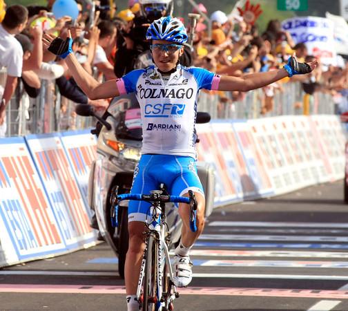 Domenica Pozzovivo wins stage eight..!