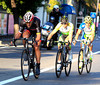 Cancellara is pacing Gerrans and Nibali into San Remo - but their lead is very slender..!