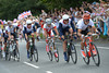 German and Austrian cyclists help GB chase with 20-kilometres to go, but it could be too late now...