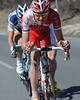 The same Taaramae, with bloodied knees and knuckles, has now attacked with Thomas De Gendt..!