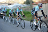Three Omega teamates escort Leipheimer to Nice after a third fall ruins his G.C chances - Movistar continues to race hard in front...
