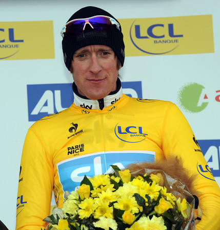Bradely Wiggins is still the race-leader after stage three...