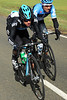 Richie Porte has been blown out of Larsson's group - and he's one of the strongest riders in the race..!