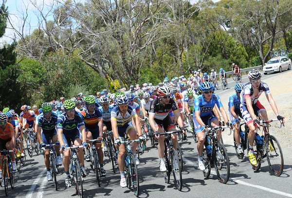 The peloton looks totally complacent with about 60-kilometres to go - but their deficit is close to twelve minutes..!