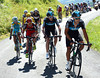 Richie Porte chases for Wiggins, nullifying the Nibali escape...
