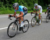 Sylvain Chavanel leads a scramble to get back to the peloton after the Granier...