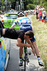 Peter Weening has similar trouble with a pedal - but his Green Edge mechanic fixes it the hard way...