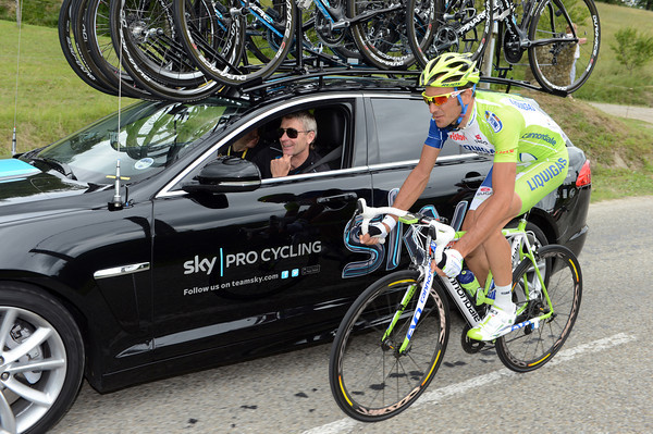 Is Ivan Basso looking to Sean Yates for a job in 2013..?