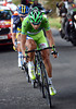 Peter Sagan is the culprit - the Slovakian powerhouse is trying to get away with Paulinho and Kruiswick...