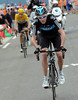 Froome has attacked with three-kilometres left - Wiggins seems happy to let his teamate chase Valverde, because both men can put time into Nibali...