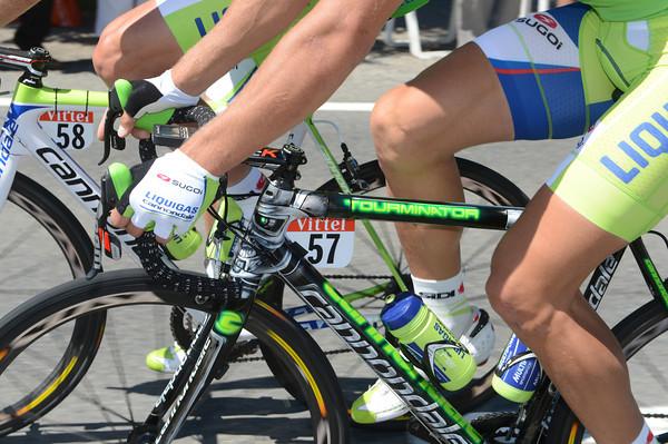 A closer look at Sagan's Cannondale reveals a 'Tourminator' paint-job...