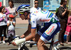 Anthiny Delaplace is one of many riders suffering with their injuries after the stage six crash...