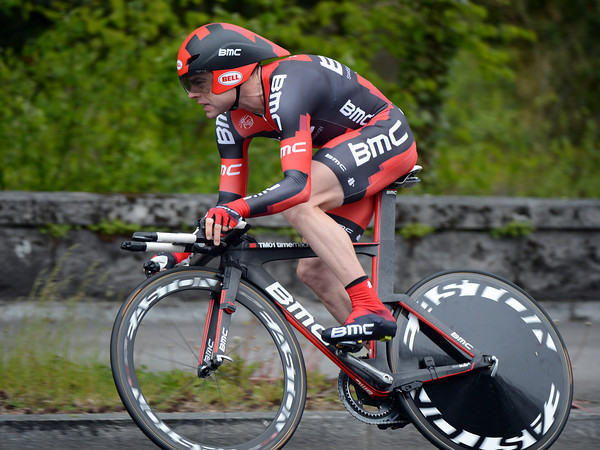 Back in a lowly 80th place, Cadel Evans lost almost 20-seconds today...