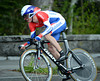 """Stef Clement raced to 8th place at 8.46""""..."""
