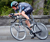 "Bradley Wiggins was also slowed by wet roads - the Sky rider took 11th place at 9.11""..."