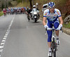 With the escape over, Fabrice Jeandesboz attacks on the Haut de la Cote...