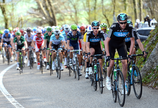 Sky has lost Cavendish and a few others now, but Froome is keeping the pursuit going...