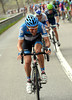 With Smukulis caught, David Zabriskie goes on the attack in the last five-kilometres...
