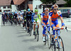 Ten Dam and Brescehl are gradually getting the Gesink-Leipheimer-Duggan group closer to the Movistar group ahead...