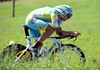 Tanel Kangert of Estonia took a brilliant 6th place, just 34-seconds down... on stage seven of the 2012 Tour de Suisse