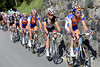 Laurens Ten Dam chases for Rabobank and Robert Gesink...
