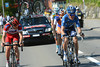 A counter-attack has started with Frank and Sorensen leading Kruijswijk and Kiserlovski...